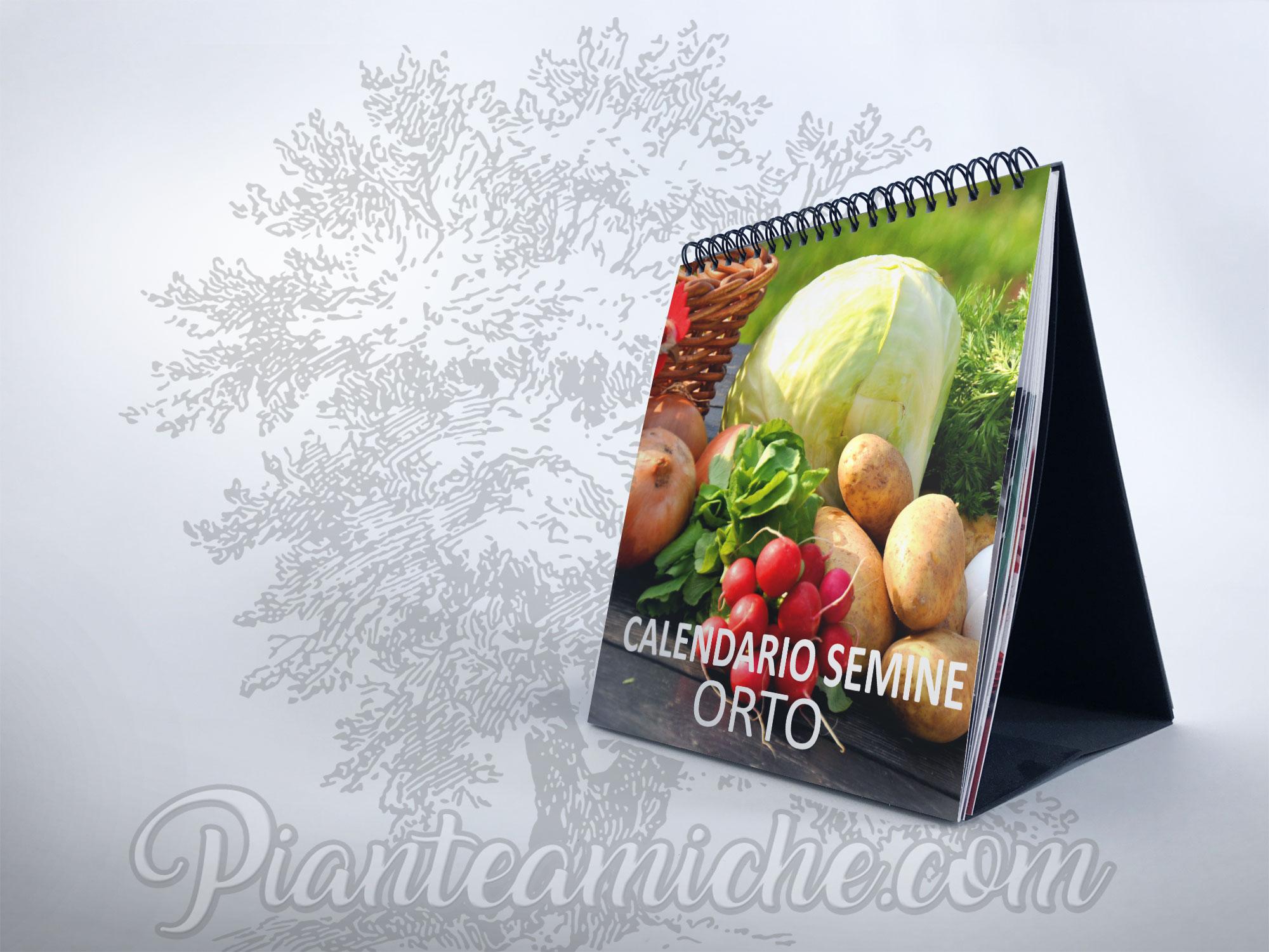 Calendario Piante Orto.Calendario Delle Semine Nell Orto